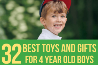32 Best Toys & Gifts for 4 Year Old Boys in 2021