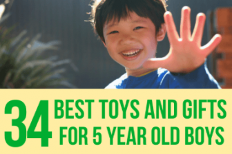 34 Best Toys & Gifts for 5 Year Old Boys in 2021