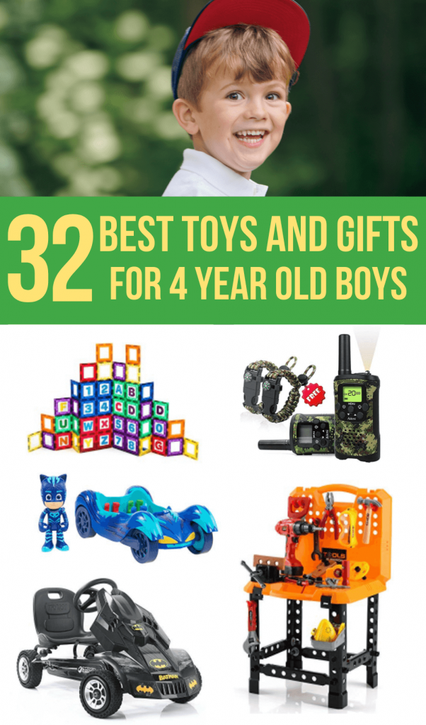 4 Year Old Boy Toys