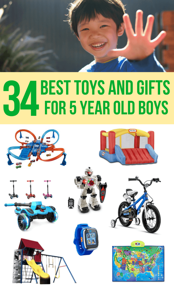 5 Year Old Boy Toys