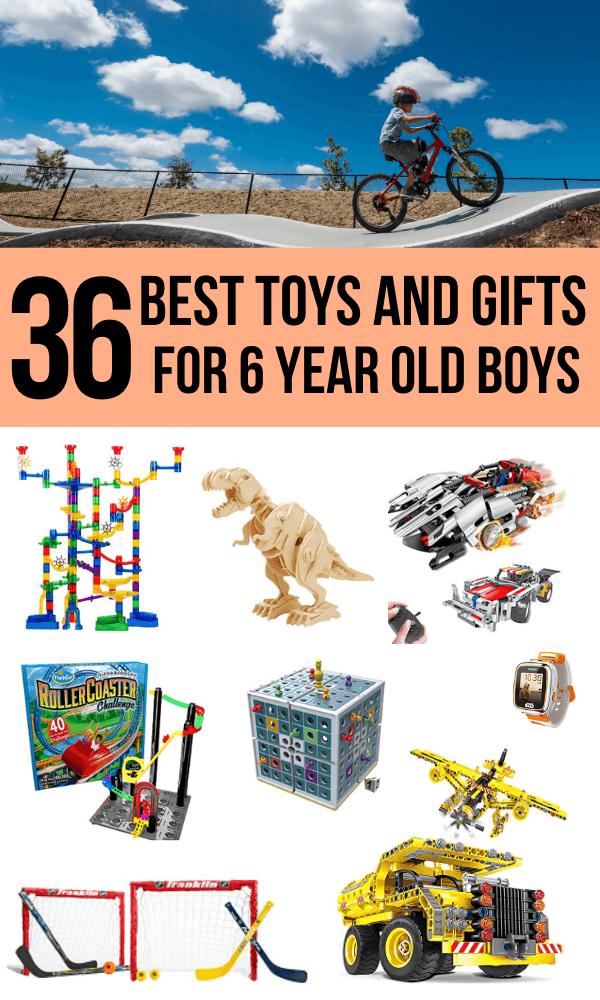 6 year old boy toys