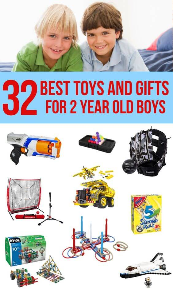 Best Gift Ideas for 2 Year Old Boys