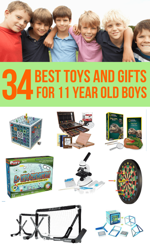 11 year old boy toys