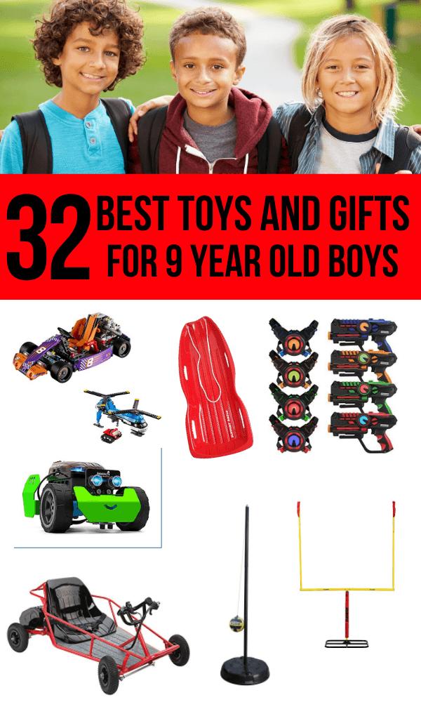 9 year old boy toys