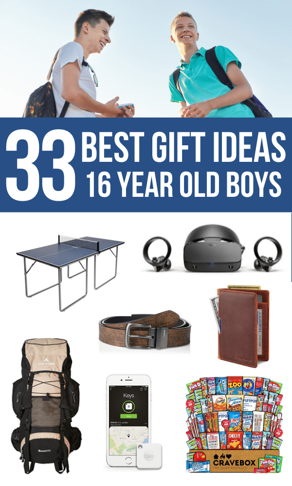Gift Ideas for 16 Year Old boys