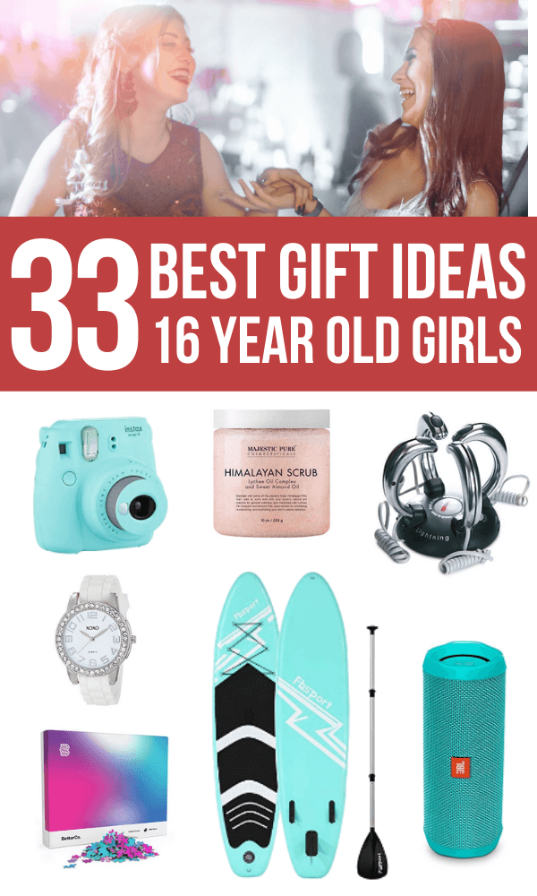 Gift Ideas for 16 Year Old Girls