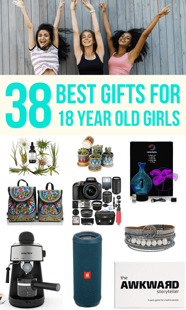 38 Best Gifts For 18 Year Old Girls For 2021 Pigtail Pals