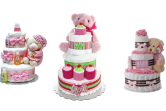 9 Best Diaper Cakes for Baby Girls in 2021
