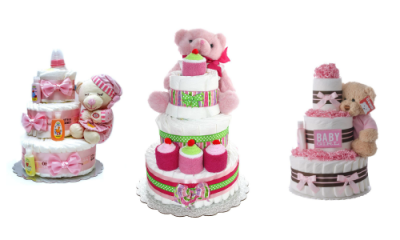 Best Baby Girl Diaper Cakes