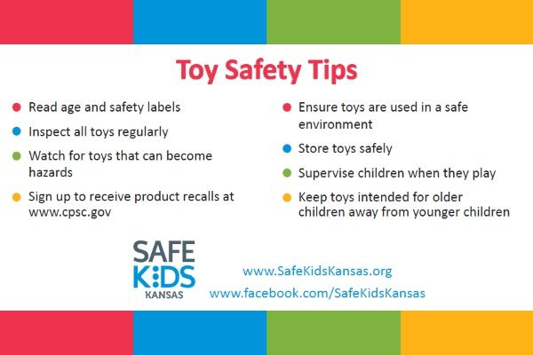 Tips for safe toys