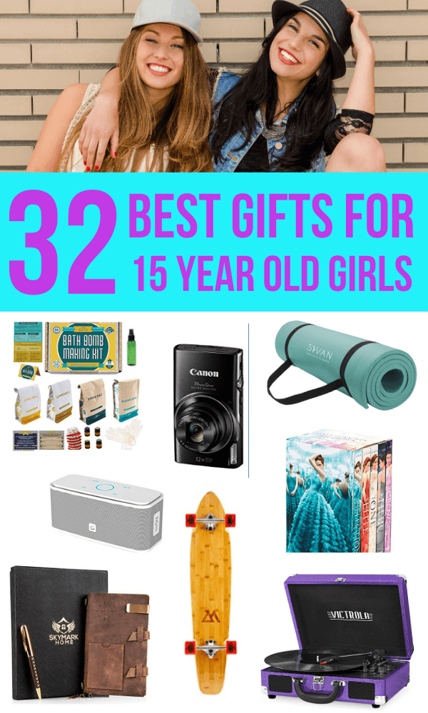 32 Best Gift Ideas For 15 Year Old Girls In 2021 Pigtail Pals