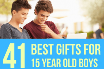 41 Best Gifts for 15 Year Old Boys in 2021