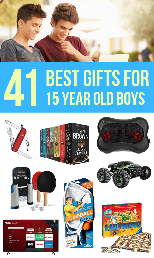 15 Year Old Boy Gifts