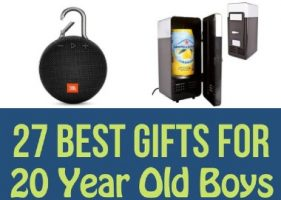 27 Best Gifts for 20 Year Old Boys in 2021