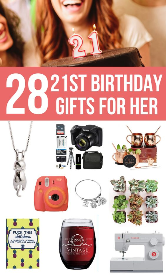 21st Birthday Gifts for Females