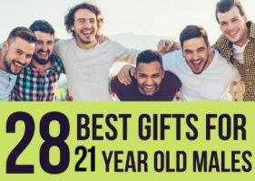 28 Best Gifts for 21 Year Old Males in 2021