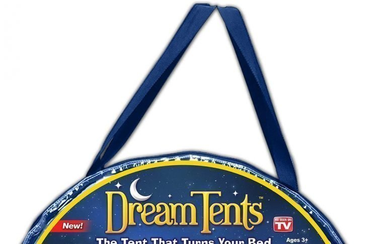 This is an image of a Space Adventure dream tent pack