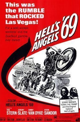 This is an image of the Hell's Angels 1969 Color Cover