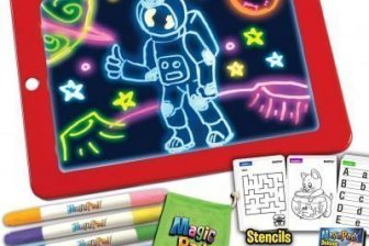 Magic Pad Deluxe Light Up Tracing Pad Review