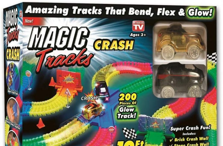 magic tracks crash set