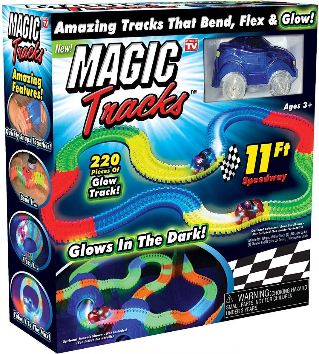 magic tracks glow set