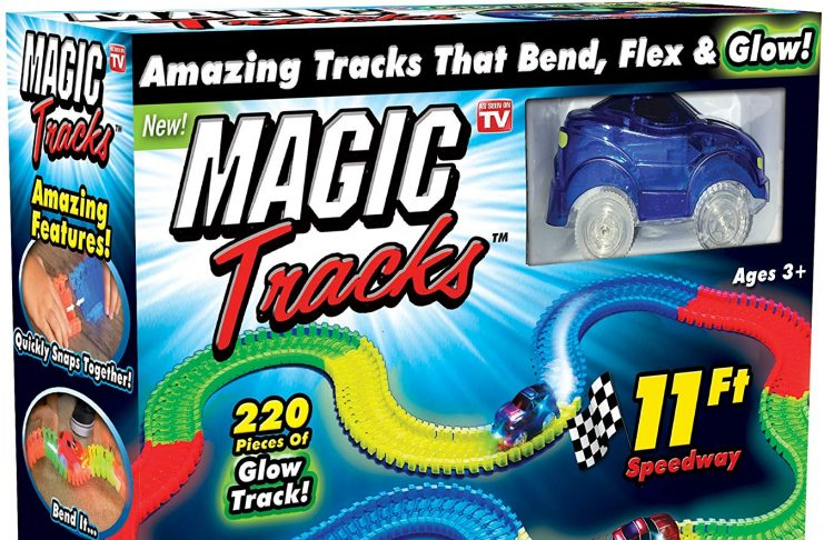 magic tracks glow set