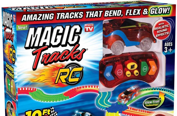 magic tracks rc race set