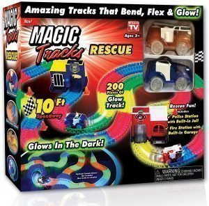 magic tracks rescue set
