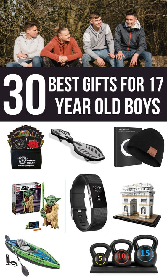 Top Gift Ideas for 17 Year Old Boys